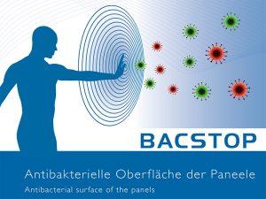 Antibakterielle Beschichtung - Bacstop