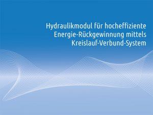 Neu - Hydraulikmodul Weger