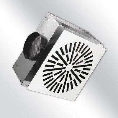 Dralldurchlass VVDM verstellbar mit Ecobox