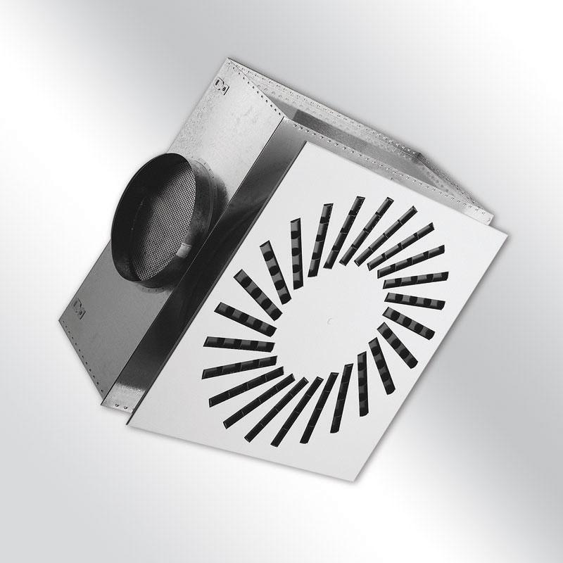 Dralldurchlass VVM verstellbar mit Ecobox
